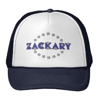 Zackary in Soccer Blue Cap