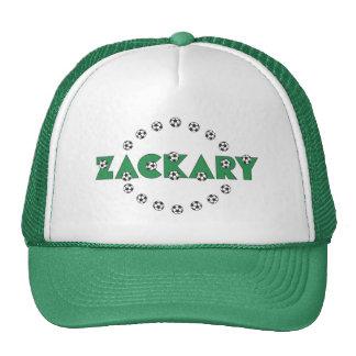 Zackary in Soccer Green Cap