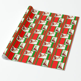 Zackary Rabbit Christmas Wrapping Paper