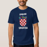 Zadar, Croatia with coat of arms Tee Shirts