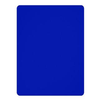 Zaffre Blue Classic Colored Personalized Announcement