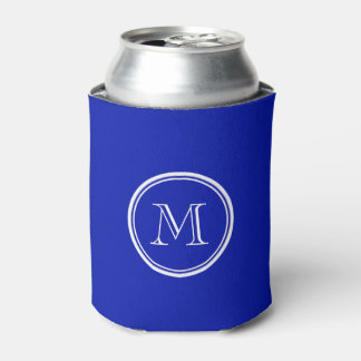 Zaffre Blue High End Colored Can Cooler