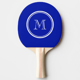 Zaffre Blue High End Colored Ping Pong Paddle