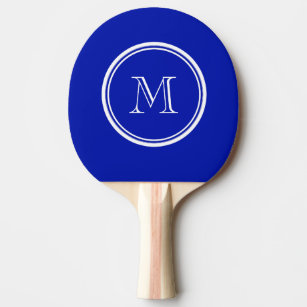 Zaffre Blue High End Coloured Ping Pong Paddle