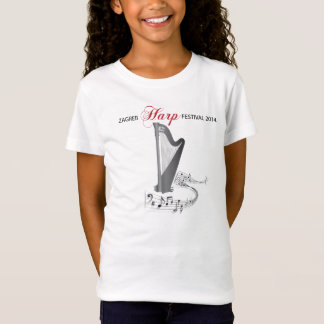 Zagreb Harp Festival 2014. T-Shirt