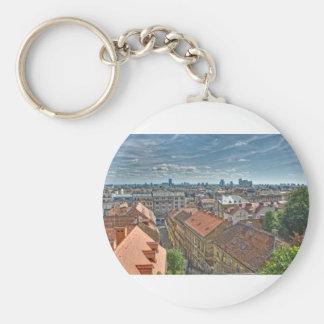 Zagreb Key Ring