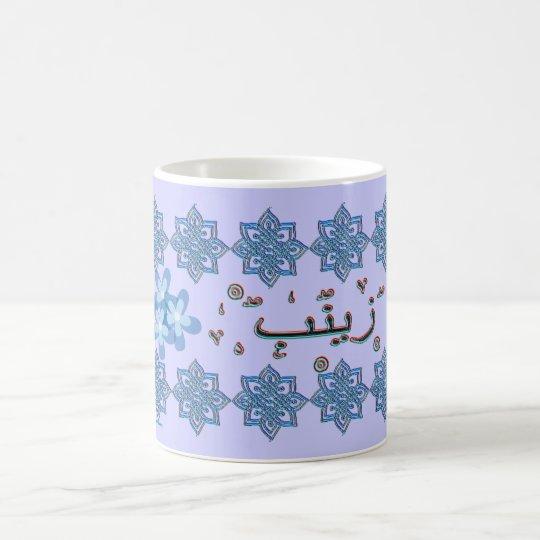 Zainab Zaynab arabic names Coffee Mug