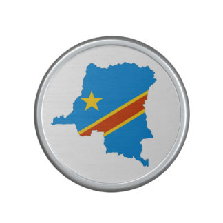 zaire congo country flag map bluetooth speaker