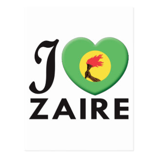 Zaire Love Post Cards