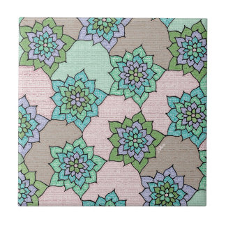 zakiaz lotus flower tiles