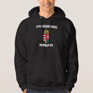 Zalaegerszeg, Hungary with coat of arms Hoodie
