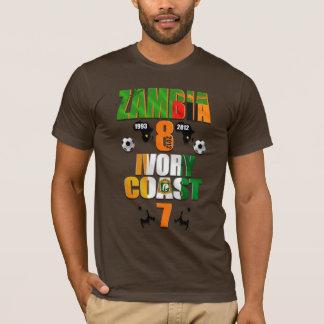 Zambia 1993 2012 Africa Champions Memorial Winners T-Shirt