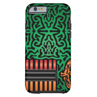 Zambia Abstract Tough iPhone 6 Case
