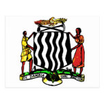 Zambia, Africa, Coat of Arms Postcards