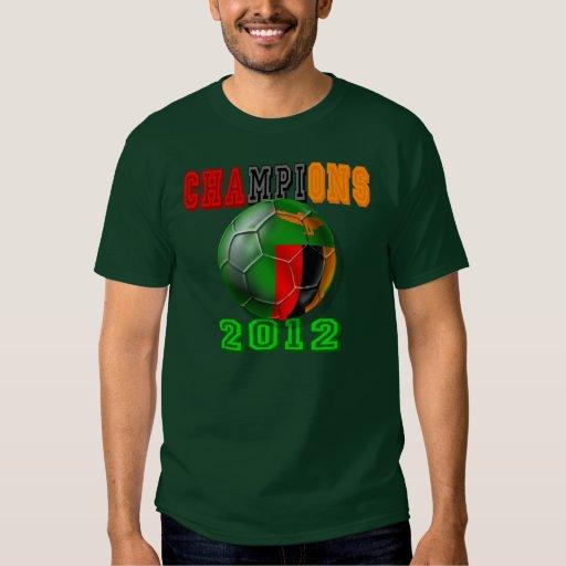 Zambia beat Ivory Coast - 2012 Champions of Africa T Shirts