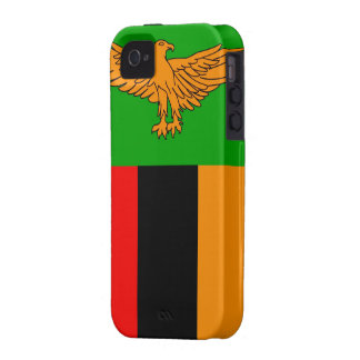 Zambia Vibe iPhone 4 Cover