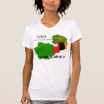"""Zambia """"Chipolopolo"""" 2012 Champions of Africa T Shirts"""