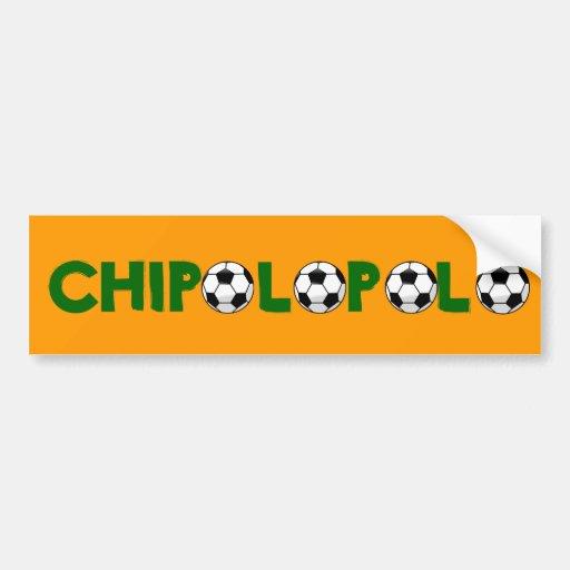 """Zambia """"Chipolopolo"""" Bumper Sticker"""