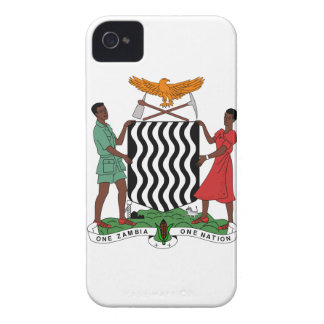 Zambia Coat of Arms iPhone 4 Covers