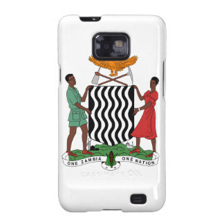 Zambia Coat of Arms Samsung Galaxy S2 Case