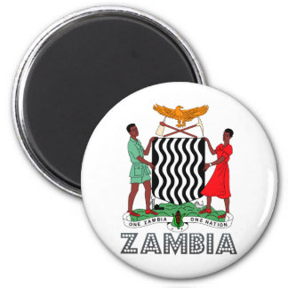 Zambia Coat of Arms Magnet