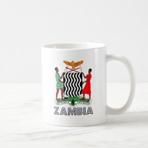 Zambia Coat of Arms Mug