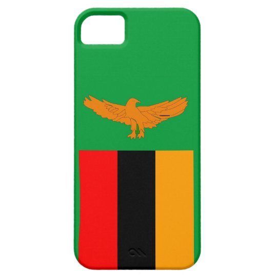 zambia country flag case