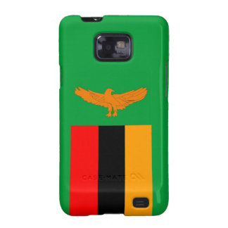 zambia country flag case samsung galaxy SII cases