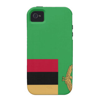 Zambia Flag Case-Mate iPhone 4 Covers