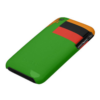Zambia Flag iPhone 3 Cover
