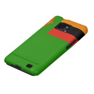 Zambia Flag Galaxy SII Cases