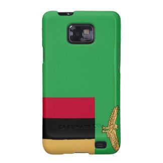 Zambia Flag Galaxy SII Covers