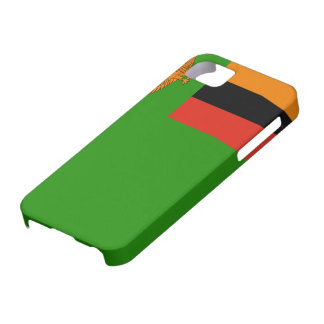 Zambia Flag iPhone 5 Covers