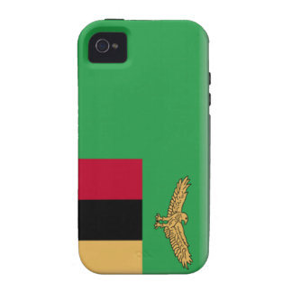 Zambia Flag iPhone 4/4S Cover