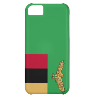 Zambia Flag Cover For iPhone 5C