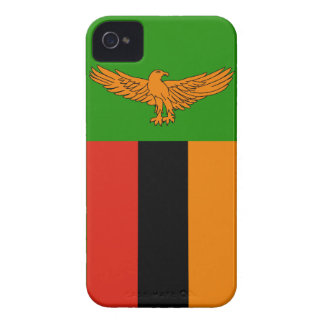 Zambia Flag Case-Mate iPhone 4 Cases