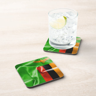 Zambia Flag Drinks Coasters