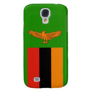 Zambia Flag Galaxy S4 Case