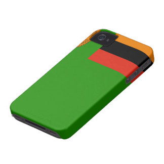 Zambia Flag iPhone 4 Cover