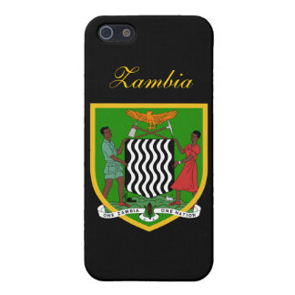 Zambia Flag iPhone 5/5S Cover