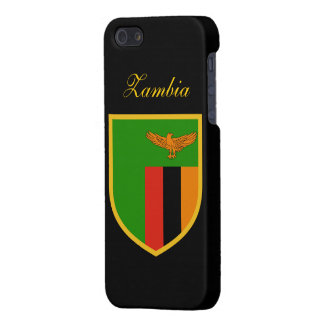 Zambia Flag iPhone 5 Case