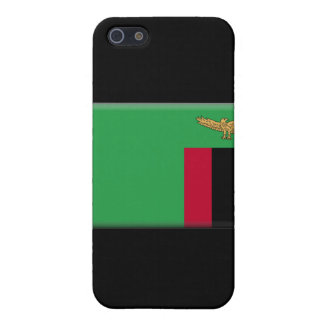 Zambia Flag Cover For iPhone 5