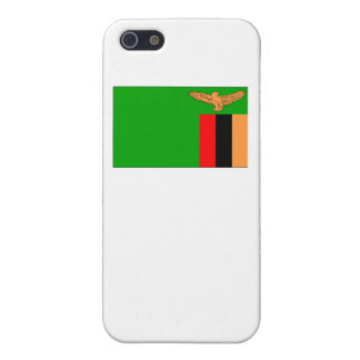 Zambia Flag iPhone 5 Cases