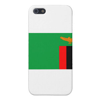 Zambia flag case for iPhone 5