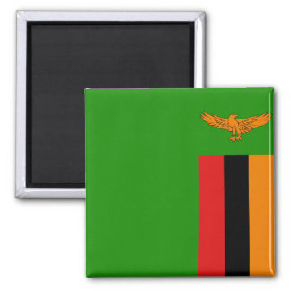 Zambia Flag Magnet
