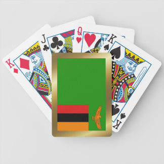 Zambia Flag Playing Cards