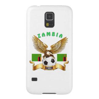 Zambia Football Designs Galaxy S5 Case
