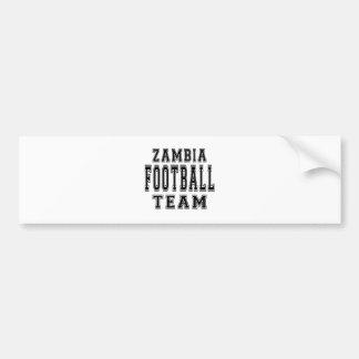 Zambia Football Team Bumper Sticker