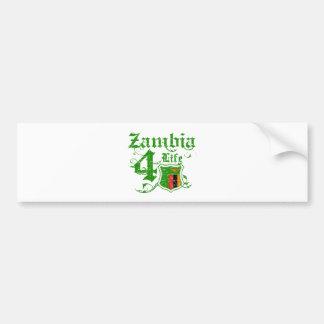 Zambia for life bumper sticker