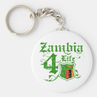 Zambia for life key ring